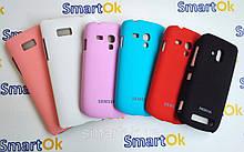 Plastic cover case for Nokia Lumia 510 Glory, white чехол накладка пластиковая