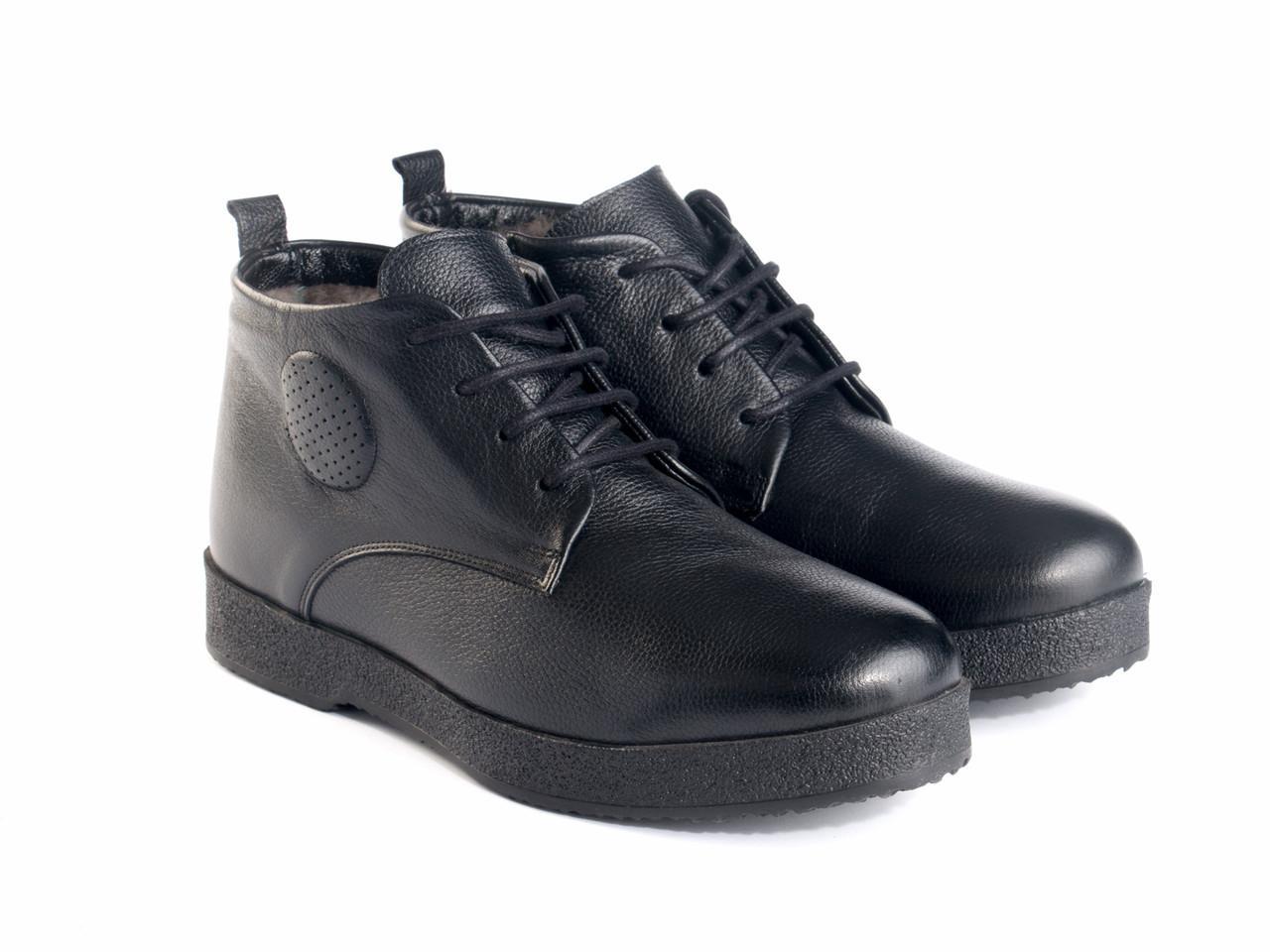 Ботинки Etor 13902-4510 43 черные
