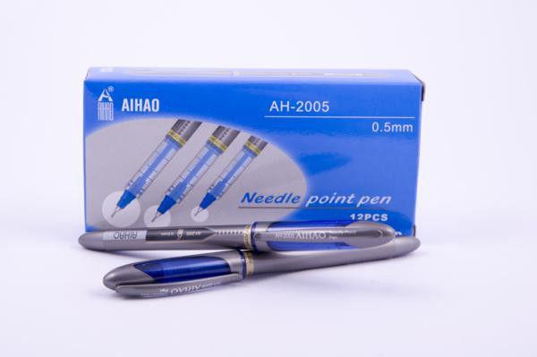 Ручка роллер AIHAO синя