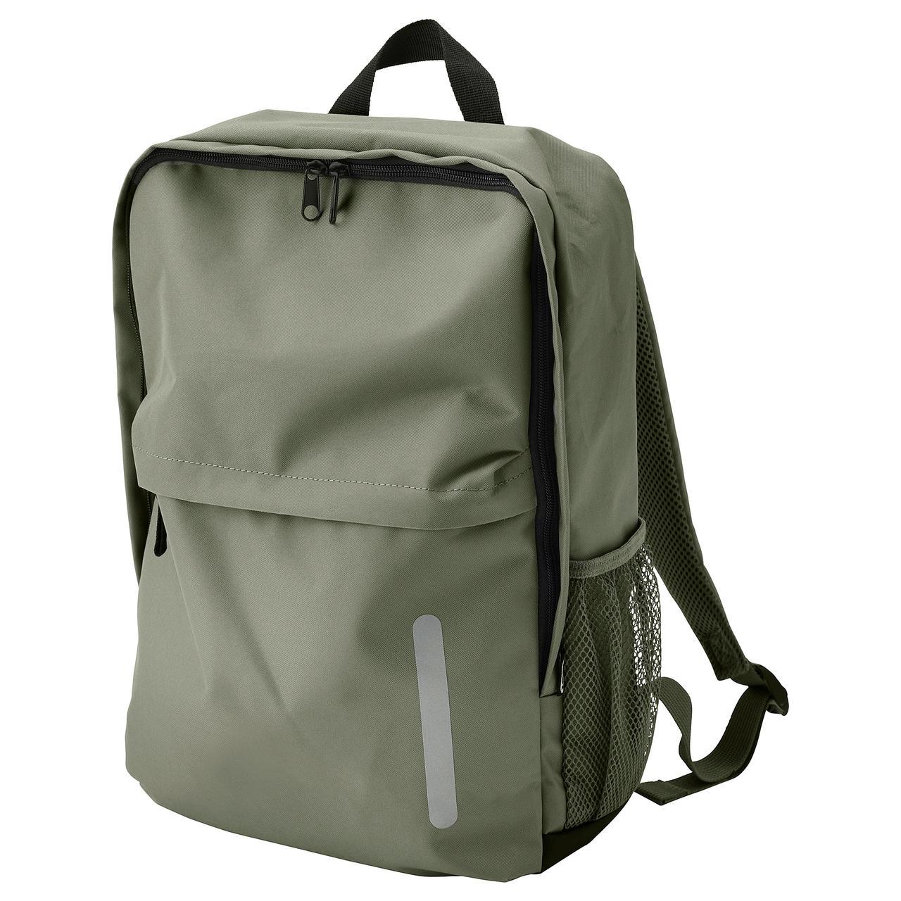 Рюкзак IKEA STARTTID S зеленый 904.055.05