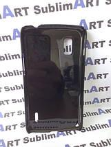 Чехол для 2D сублимации пластиковый на LG Google Nexus 4 черный, фото 3