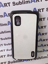 Чехол для 2D сублимации пластиковый на LG Google Nexus 4 черный, фото 2