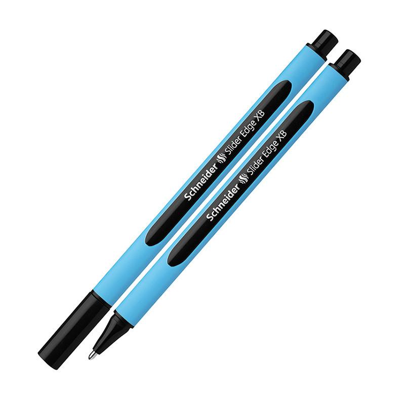 Ручка масляна SCHNEIDER SLIDER EDGE ( ТОВЩИНА М-середня), пише синім