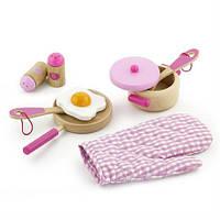 """Набор Viga Toys """"Маленький повар"""", розовый (50116)"""