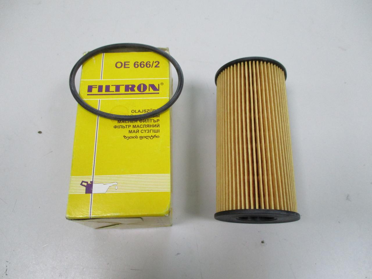 Фильтр масляный FILTRON OE666/2 OPEL VIVARO 2.0CDI