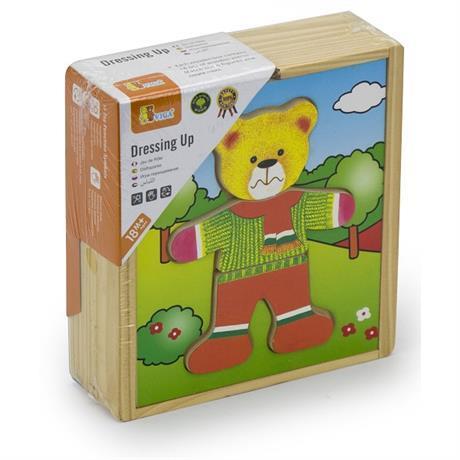 """Игровой набор Viga Toys """"Гардероб медведя"""" (56401)"""