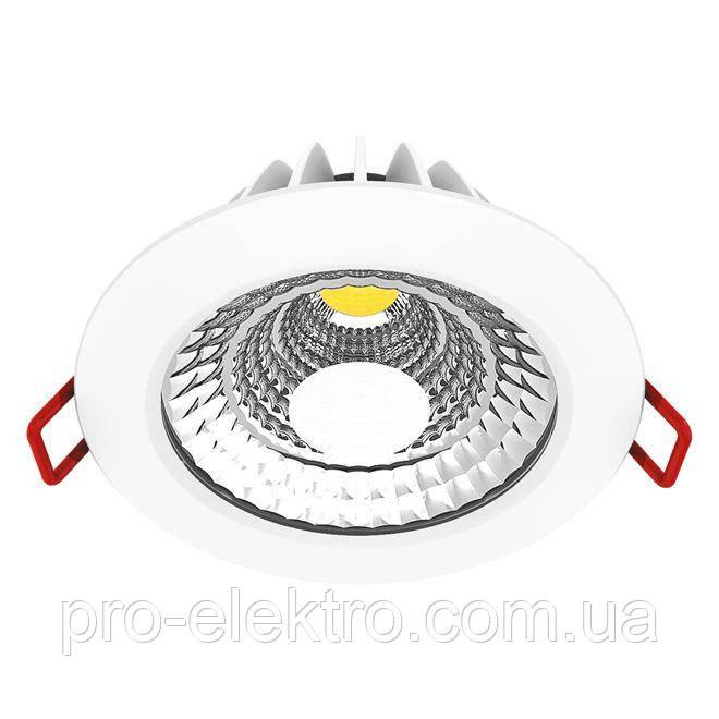 Точечный светильник Maxus DIM 6W теплый свет (димминг)