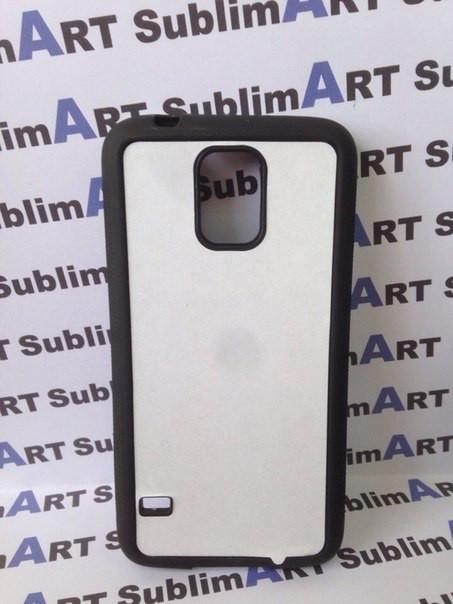 Чехол для 2D сублимации резиновый (TPU) на Samsung Galaxy S5 черный