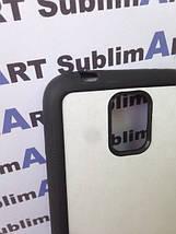 Чехол для 2D сублимации резиновый (TPU) на Samsung Galaxy S5 черный, фото 3
