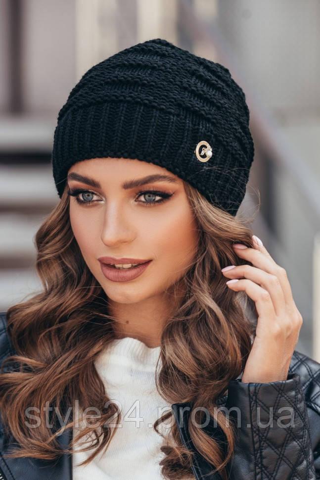 ЖІноча вязана шапка 1127abfe3d3bd
