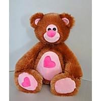 Мягкая игрушка Медведь Мишутка 34*32см, 2 цвета,  10.03.04
