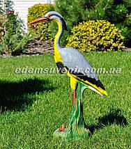 Садовая фигура Цапля большая, фото 2