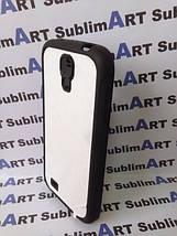 Чехол для 2D сублимации резиновый (TPU) на Samsung Galaxy S4 черный, фото 2
