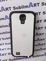 Чехол для 2D сублимации резиновый (TPU) на Samsung Galaxy S4 mini черный, фото 3
