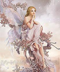 Картина из мозаики Алмазная мозаика Цветочная фея (DM-136) 50 х 60 см (Без подрамника)