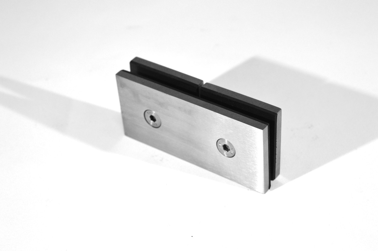 ODF-01-18-01 соединитель стекла 180 градусов (через отверстия)