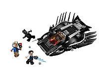 Конструктор для детей Легендарная Черная Пантера  JVToy 401 дет.