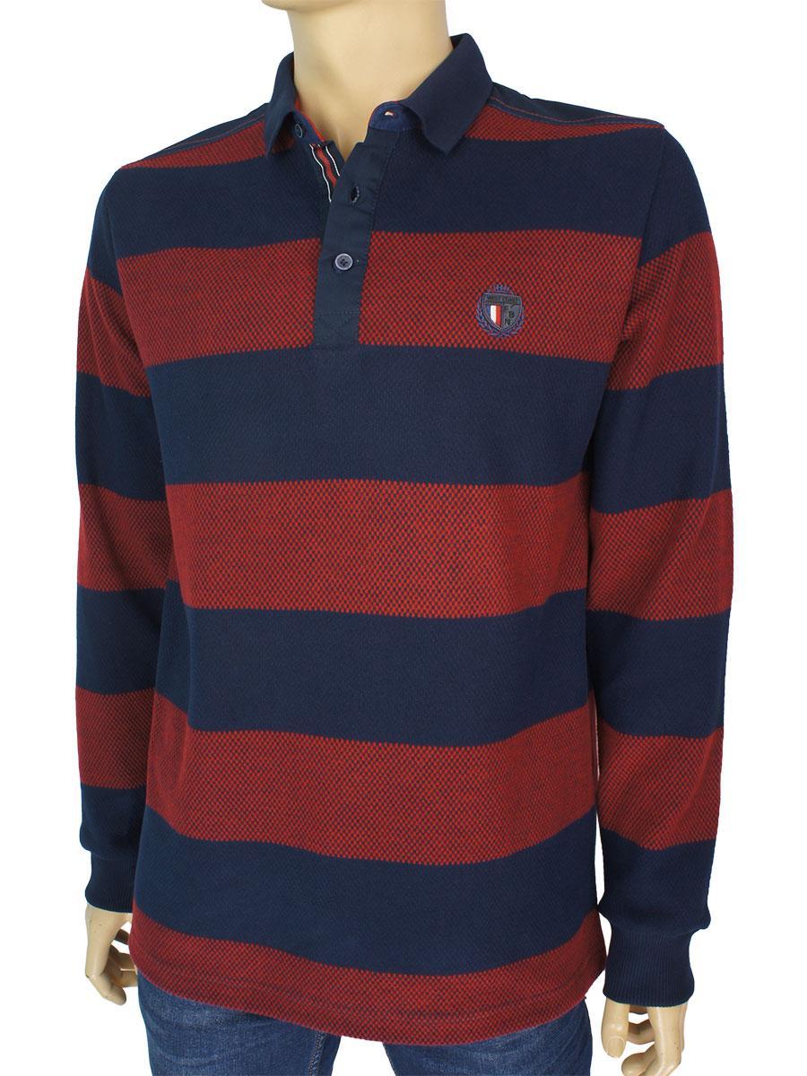 Стильний чоловічий светр Fabiani 22761 M. Red