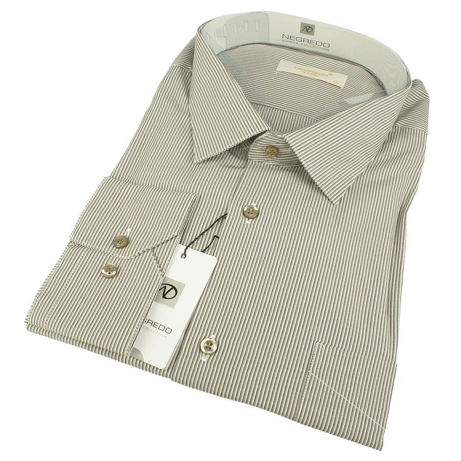 Комбинированная рубашка для мужчин большого размера Negredo Classic 407-B Classic