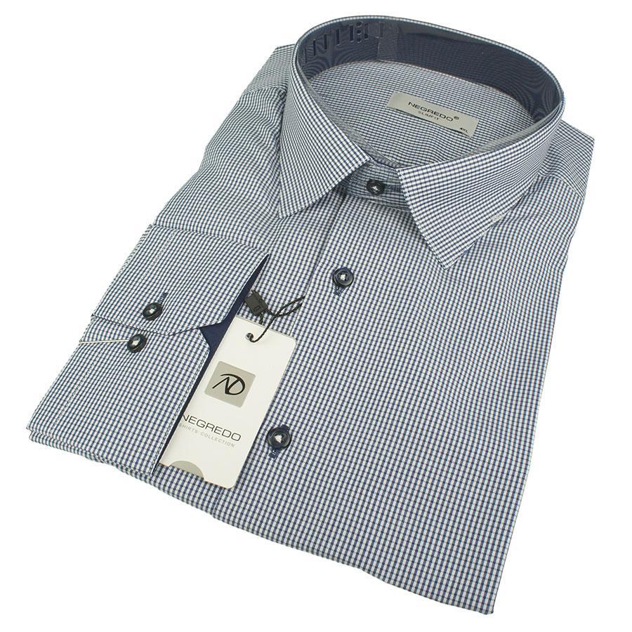 Приталенная рубашка для мужчин Negredo Slim 407-B Slim