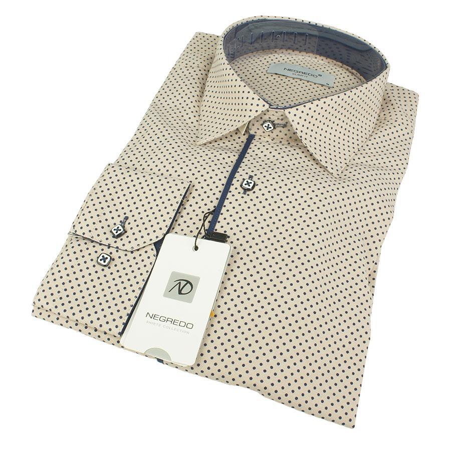 Мужская оригинальная рубашка Negredo 1079 C:01