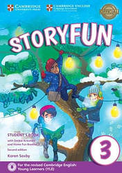 Storyfun for Movers 2nd Edition 3 Student's Book with Online Activities and Home Fun Booklet