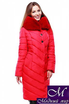 Женское стеганое зимнее пальто батал р. 44-58 арт. Мария, фото 2
