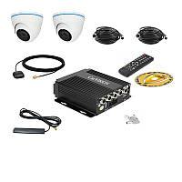 Комплект спостереження Carvision MDVR004/3G/GPS Kit-2x