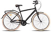 """Велосипед 28"""" PRIDE COMFORT 3 рама - 20"""" черно-бежевый матовый 2015"""