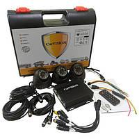 Комплект спостереження Carvision MDVR004/3G/GPS Kit-3x