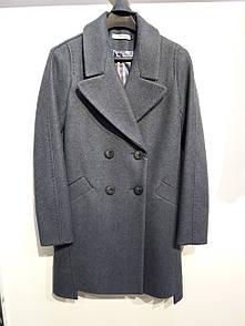 Пальто короткое Франка лаванда Modna KAZKA