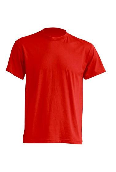 Мужская футболка 100% хб, красная