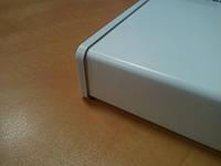 Подоконник пластиковый белый РИФ Украина 400 мм, длина до 6 метров