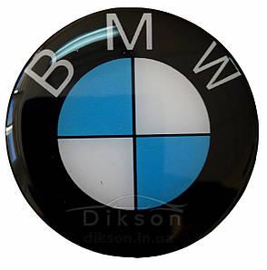 Силиконовая наклейка BMW