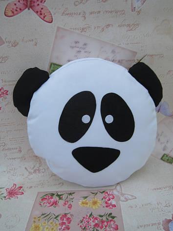 Подушка-смайлик Emoji #25 Панда, фото 2