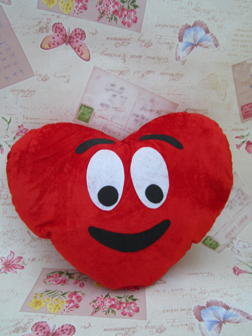Декоративна подушка-серце Emoji #26