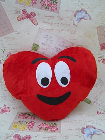 Декоративна подушка-серце Emoji #26, фото 2