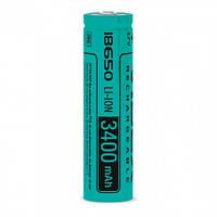 Аккумулятор Li-Ion 18650 Videx без защиты 3400mAh