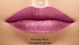 Увлажняющая помада Avon Luxe (пробник), цвет Runway Plum, Сливовый сапфир, Эйвон Люкс