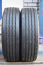 Грузовые шины б/у 245/70 R17.5 Hankook, РУЛЬ/ПРИЦЕП, пара