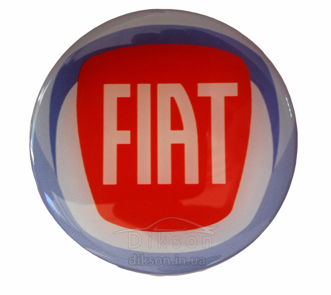 Наклейка силиконовая Fiat