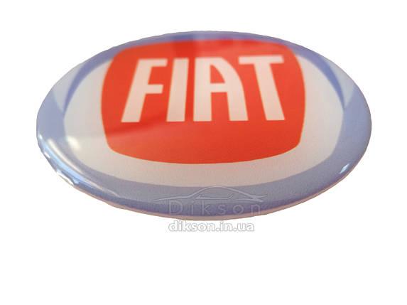 Наклейка силиконовая Fiat, фото 2