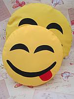 Комплект подушок-смайликов Emoji Smile (большая+маленькая) №7
