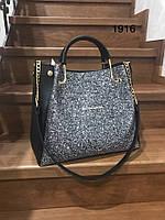 Женская модная сумка с фирменным логотипом