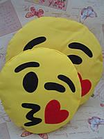 Комплект подушок-смайликов Emoji Smile (большая+маленькая) №3