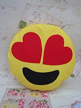 Велика подушка-смайлик Emoji #b-1 Закоханий Smile