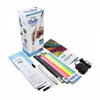 3D-ручка 3Doodler Create PLUS для проф. использования - БЕЛАЯ (75 cтержней, аксессуары) 8CPSWEEU3E
