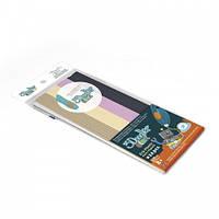 Набор стержней для 3D-ручки 3Doodler Start - МИКС (24 шт: бежевый, персиковый, розовый, черный) 3DS-ECO-MIX6-24