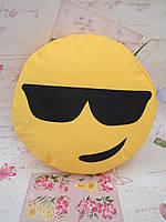 Большая подушка-смайлик Emoji #b-4 Крутелик Smile, фото 1