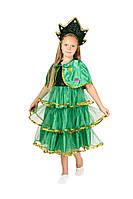 Детский карнавальный маскарадный костюм Елочка новогодняя елка размер:30,32,34
